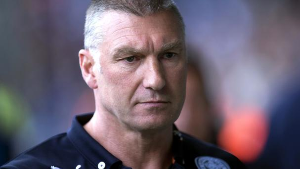 Leicester boss Nigel Pearson has had another run in with a journalist