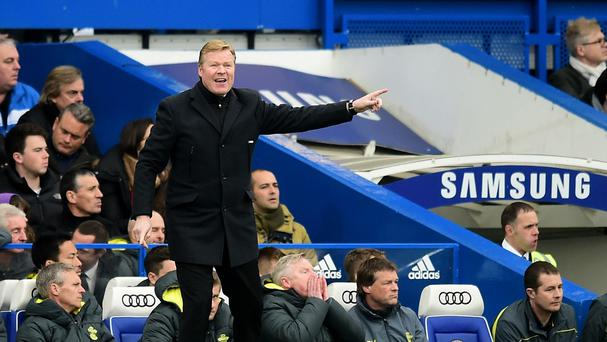 Ronald Koeman believes Chelsea deserve the plaudits for their dominance of the Premier League