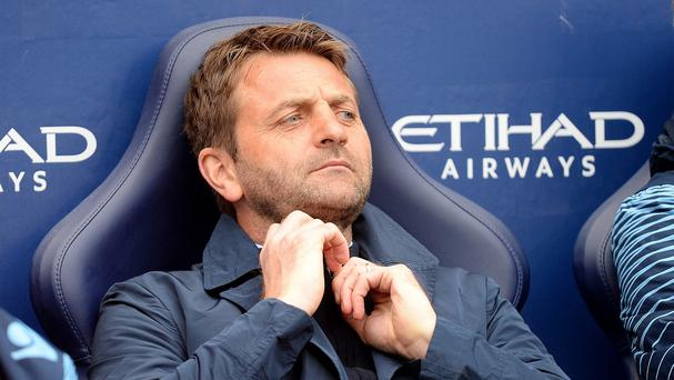 Tim Sherwood's Aston Villa face an in-form Everton side