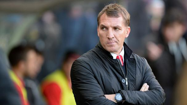 Brendan Rodgers has not been able to rely upon his strikers for goals