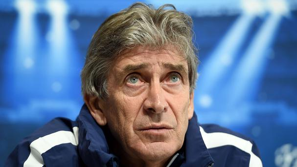 Manuel Pellegrini is famously calm in his press conferences - but claims it is difficult
