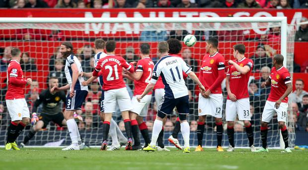 Chris Brunt's second-half free-kick went in off Jonas Olsson