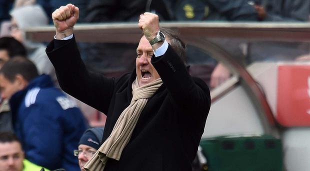 Head coach Dick Advocaat remains confident Sunderland will stay up
