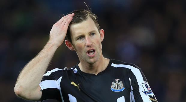 Mike Williamson has denied deliberately getting sent off at Leicester in a statement attributed to him by the BBC