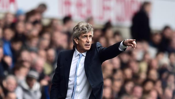 Manchester City manager Manuel Pellegrini was pleased with the style his team showed in winning at Tottenham.
