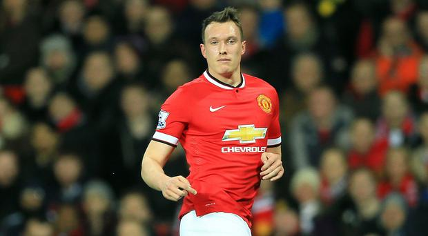 Phil Jones hopes to be back in the frame for Manchester United after injury