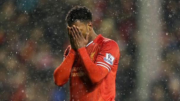 Liverpool striker Daniel Sturridge struggles with injuries