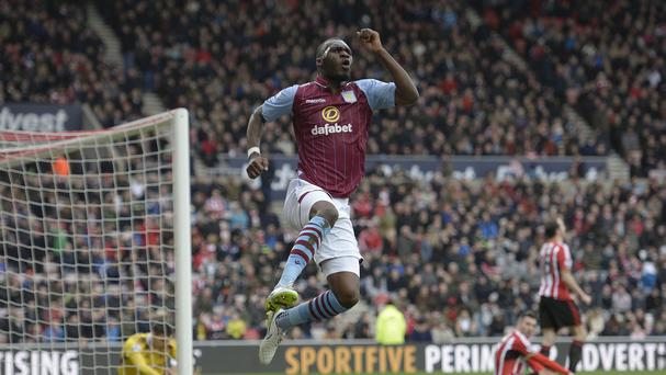 Aston Villa's Christian Benteke has scored 11 goals in his last nine games