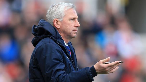 Alan Pardew left Newcastle in January to take over at Crystal Palace