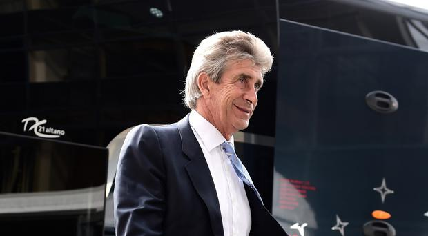Manuel Pellegrini is confident about Manchester City are constantly 'growing and improving'