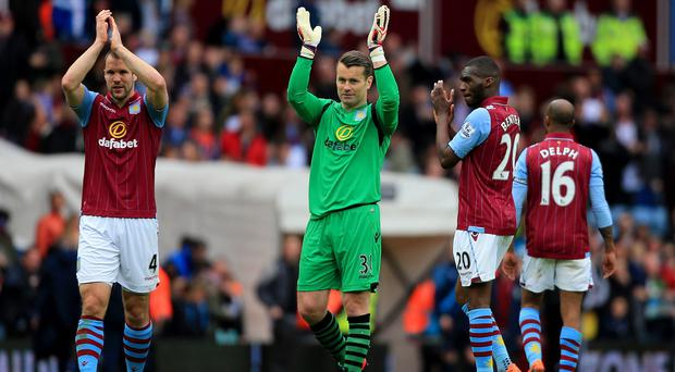 Aston Villa took another step towards safety with victory