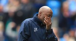 QPR manager Chris Ramsey put a brave face on his side's relegation