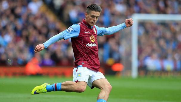Ireland underage international and Aston Villa midfielder Jack Grealish