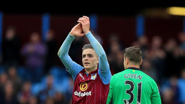 Aston Villa's Jack Grealish has rejected a first senior Republic of Ireland call-up