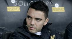 Iago Aspas claims his stay at Liverpool is over