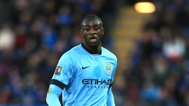 Yaya Toure has had a frustrating year at Manchester City