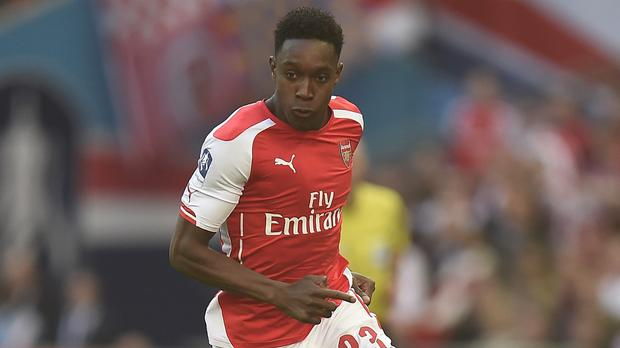 Arsenal's Danny Welbeck is a major doubt for Sunday's match at his former club Manchester United
