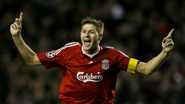 Steven Gerrard will say goodbye to Anfield on Saturday