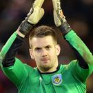 Tom Heaton has two years remaining on his contract at Burnley