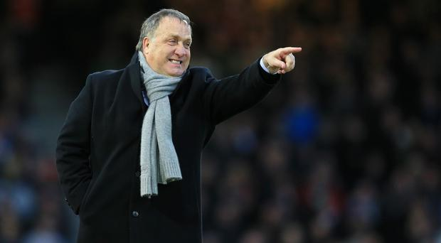 Dick Advocaat is concentrating on the job in hand
