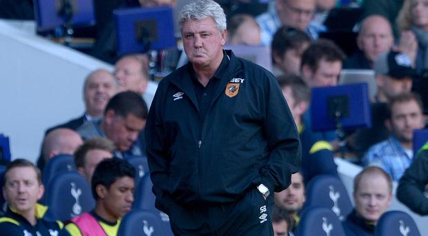 Hull manager Steve Bruce needs a victory over Manchester United