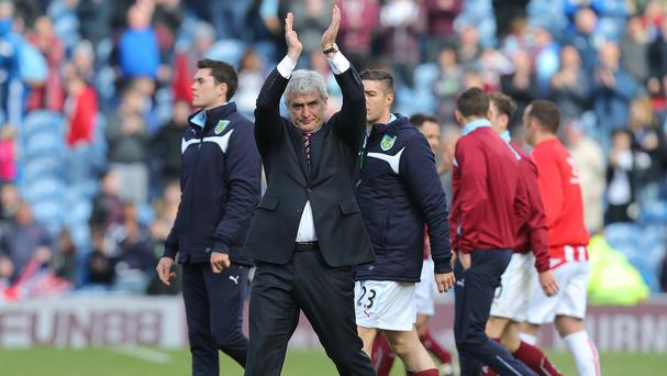 Mark Hughes has guided Stoke to a club-record Barclays Premier League points tally