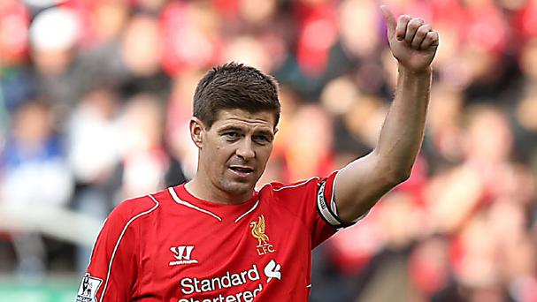 Liverpool captain Steven Gerrard could not conjure up some of his famous heroics on his final Anfield appearance