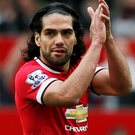 Radamel Falcao said goodbye at Old Trafford last week