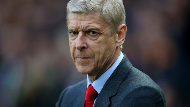 Arsenal manager Arsene Wenger would not be drawn on transfer speculation