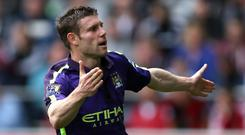 Manchester Citystar James Milner could be on the move