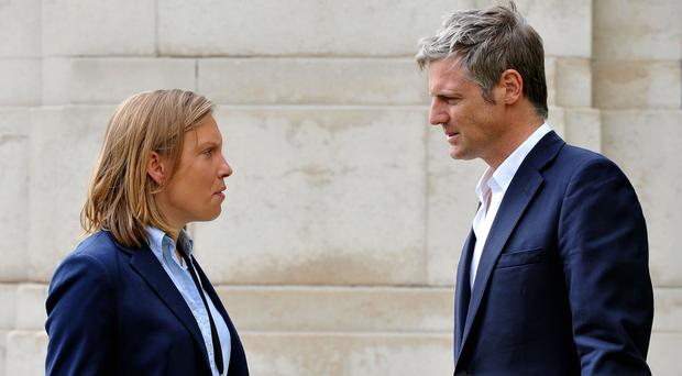 Sports minister Tracey Crouch, pictured left, has called for greater Premier League investment in grassroots football