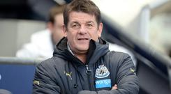 Newcastle head coach John Carver has warned his players their season has reached the point of no return