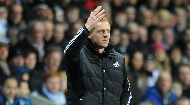 Garry Monk has dismissed comments about player exits at Swansea as 'throwaway'