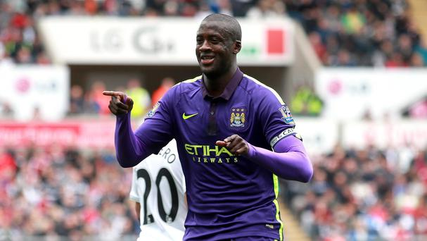 Yaya Toure looks set to stay at City despite interest from Italy
