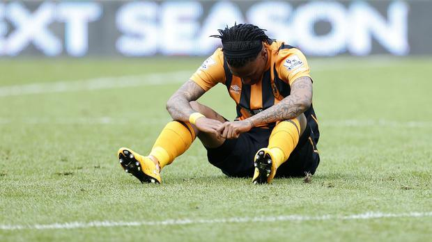Hull striker Abel Hernandez has been charged with violent conduct