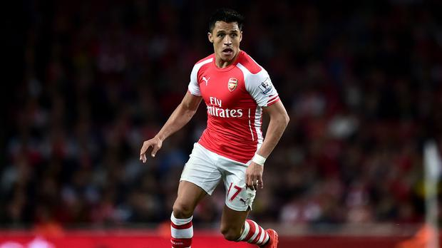 Alexis Sanchez's impressive first season with Arsenal has been recognised