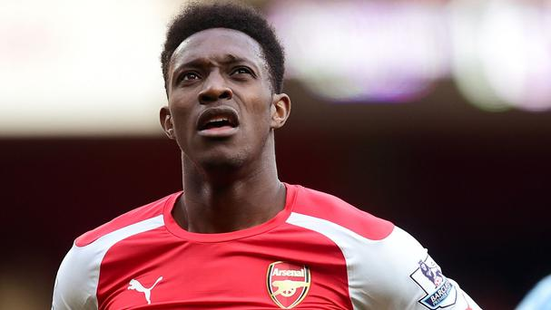 Danny Welbeck will not be playing at Wembley on Saturday