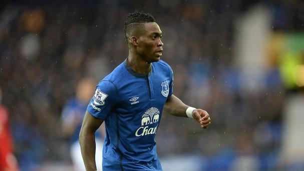 Christian Atsu spent last season on loan at Everton
