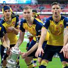 Arsenal have been tipped to win the Premier League by former Gunners player Liam Brady