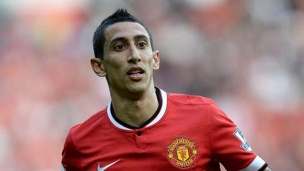 Manchester United's Angel Di Maria has been linked with a move away from Old Trafford.