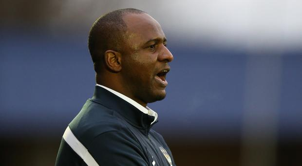 Patrick Vieira is one of four names on Newcastle's shortlist