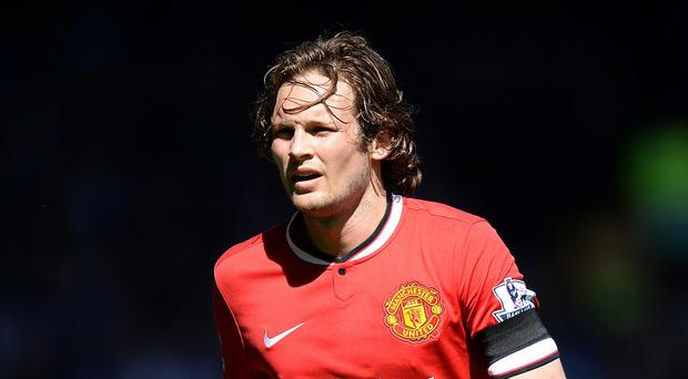 Daley Blind finished fourth in his first season with Manchester United