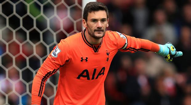 Hugo Lloris, pictured, is 'watchful' of David de Gea's situation at Manchester United