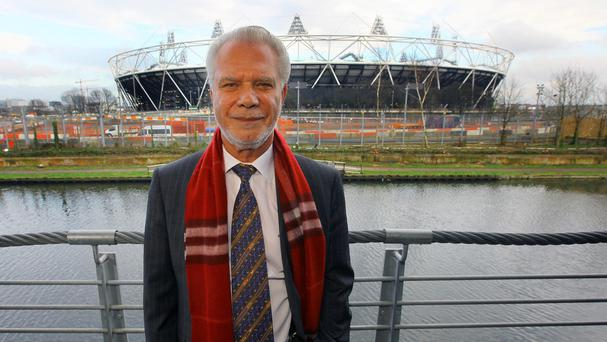 David Gold has been looking for an experienced manager to take the reins at West Ham