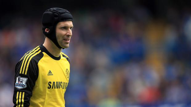 Petr Cech is set for a meeting with Chelsea