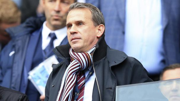 Aston Villa chief executive Tom Fox disagrees with plans to increase the home-grown quota