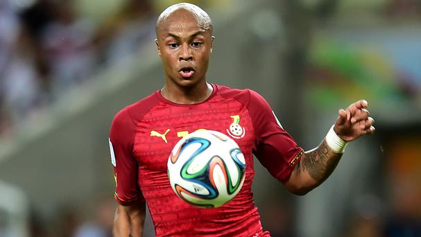 Ghana striker Andre Ayew has joined Swansea on a four-yeal deal