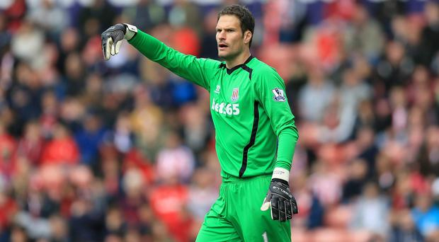 Asmir Begovic has yet to commit to a new contract as his current deal enters the last 12 months