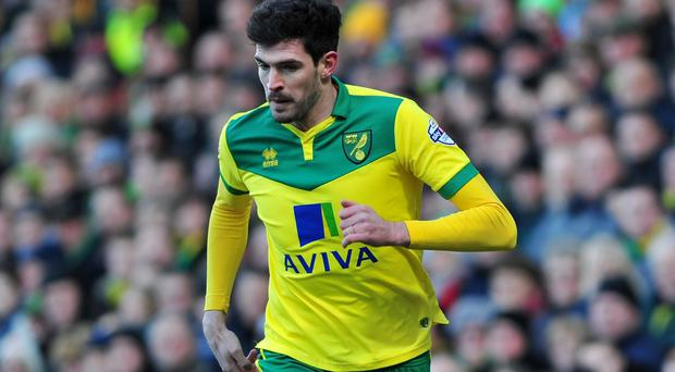 Kyle Lafferty moved to Carrow Road last summer but struggled for game time in his preferred position of centre forward