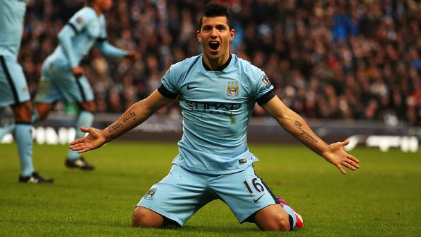 Sergio Aguero believes he can win the Ballon d'Or at Manchester City